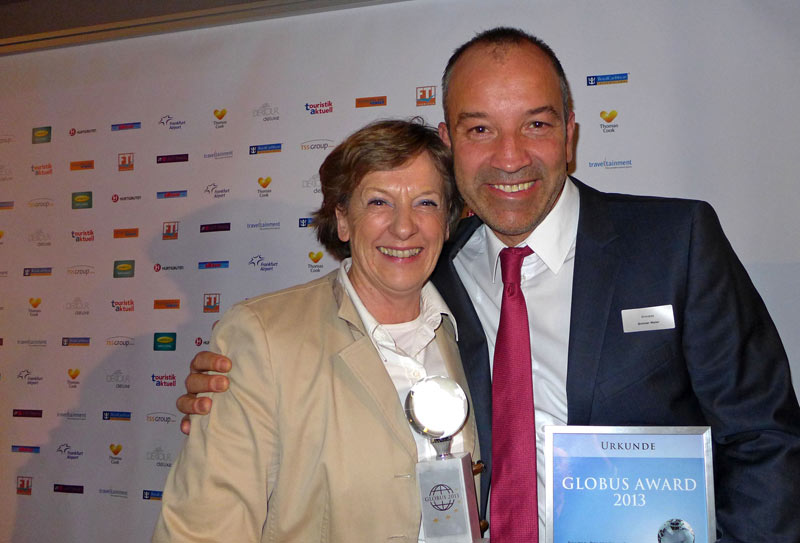 Touristik Aktuell Globus Award, Frankfurt 23.01.2014