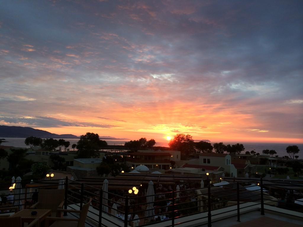 Sonnenuntergang - Kalimera Kriti