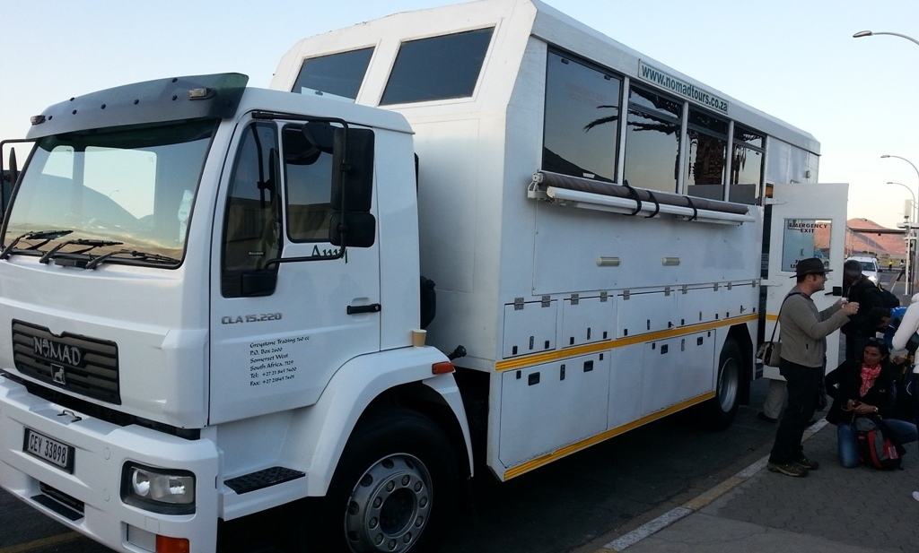 Namibia | Unser Overlander-Bus
