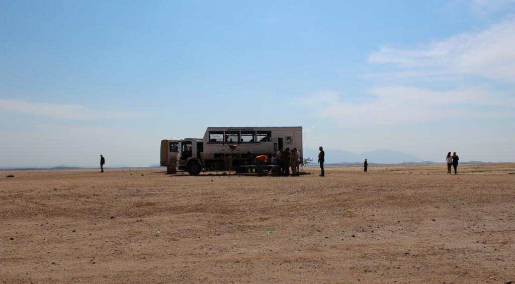Namibia | Picknick in der Wüste