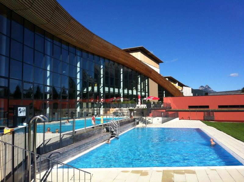 Grimming Therme, Aussenpool