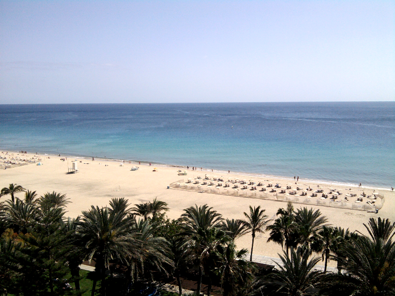 ROBINSON Club Jandia Playa | Blick vom Zimmer im Haupthaus