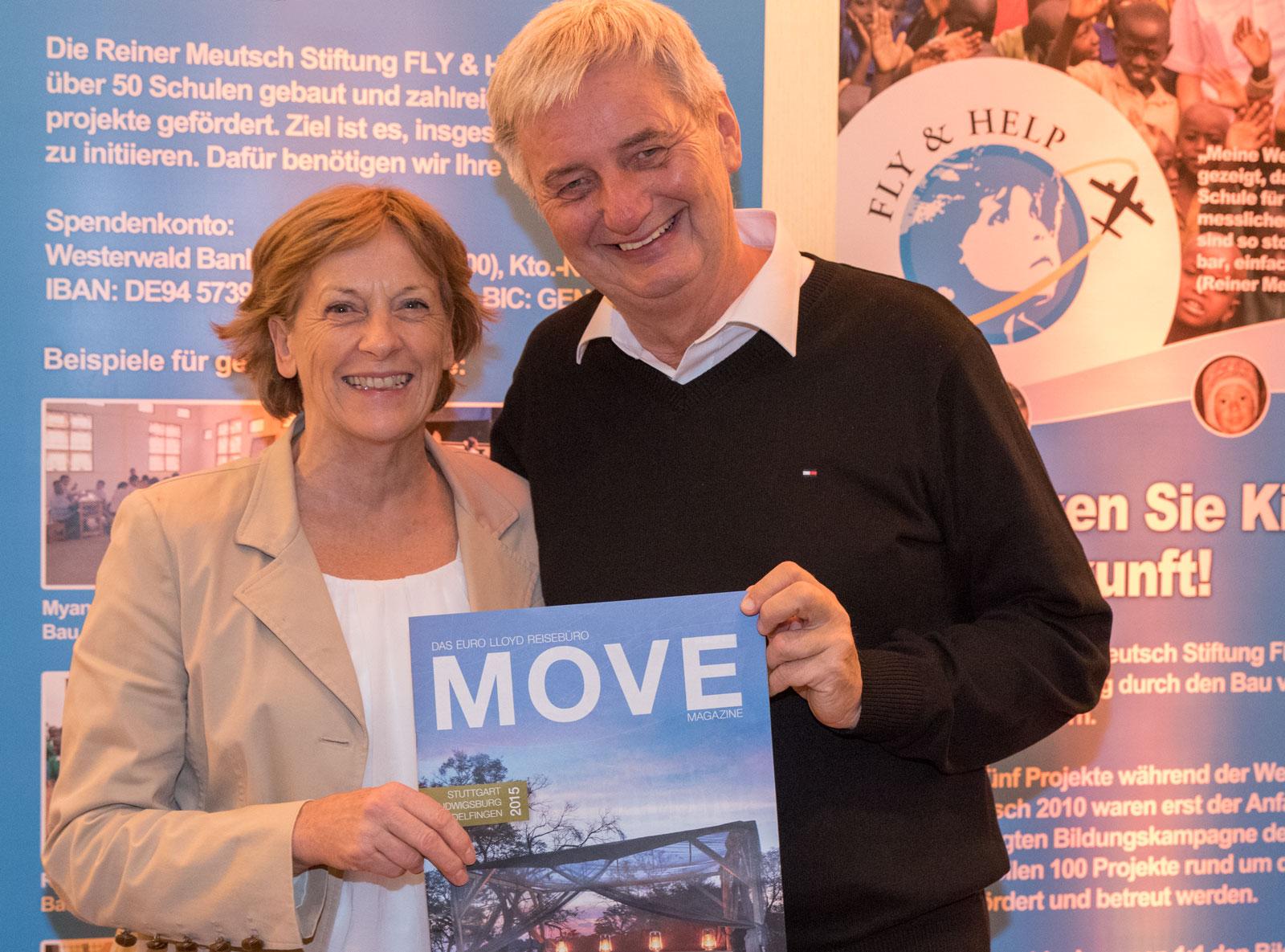 Reiner Meutsch, Gabriele Reminder-Schray, MOVE on Tour