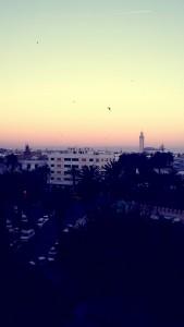 Sonnenaufgang in Casablanca