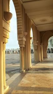 Moscheegelände in Casablanca