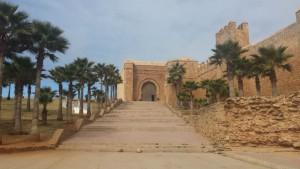 Palastanlage in Rabat