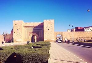Stadtmauer in Meknes