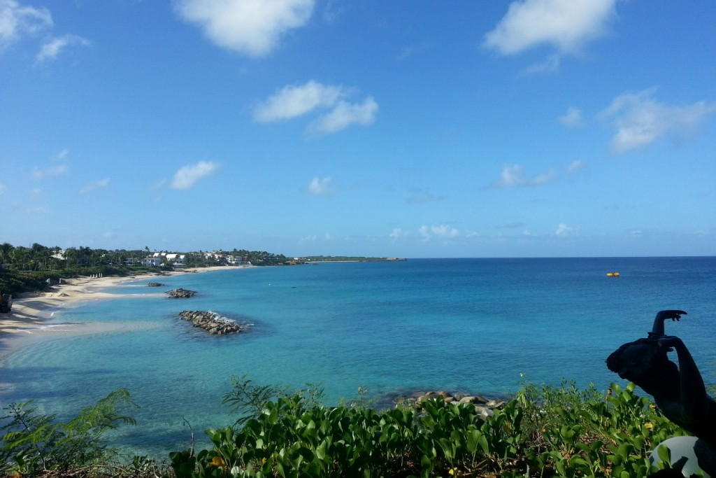 Four Seasons Anguilla | Strand bei den Villen