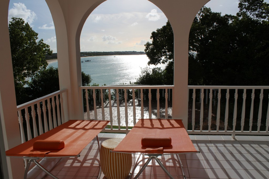 Malliouhana, An Auberge Resort | Terrasse Zimmer