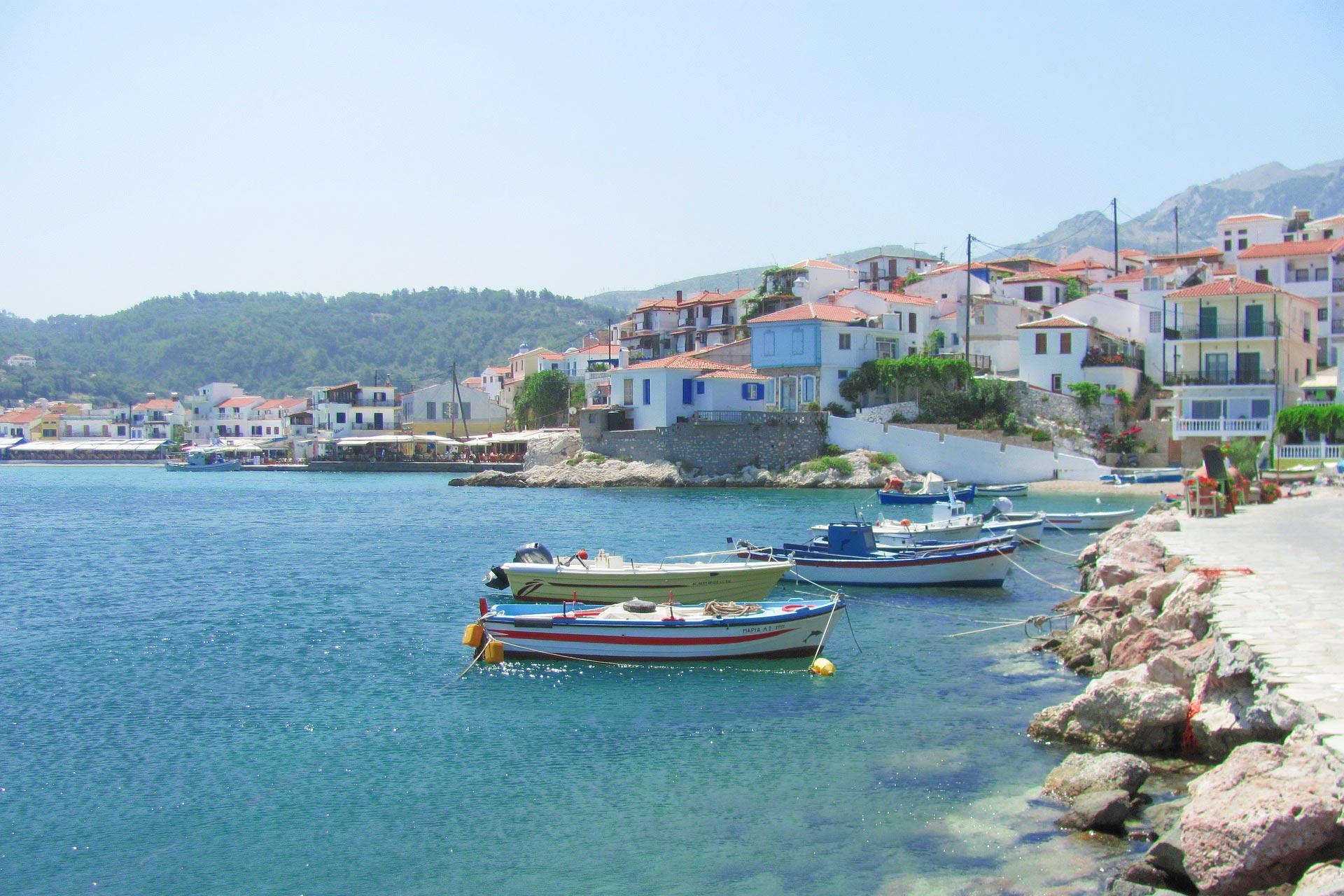 Hafen in Samos