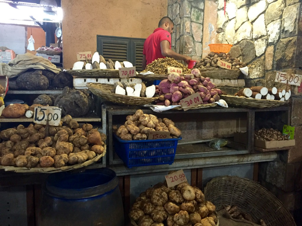 Markt in Port Loius