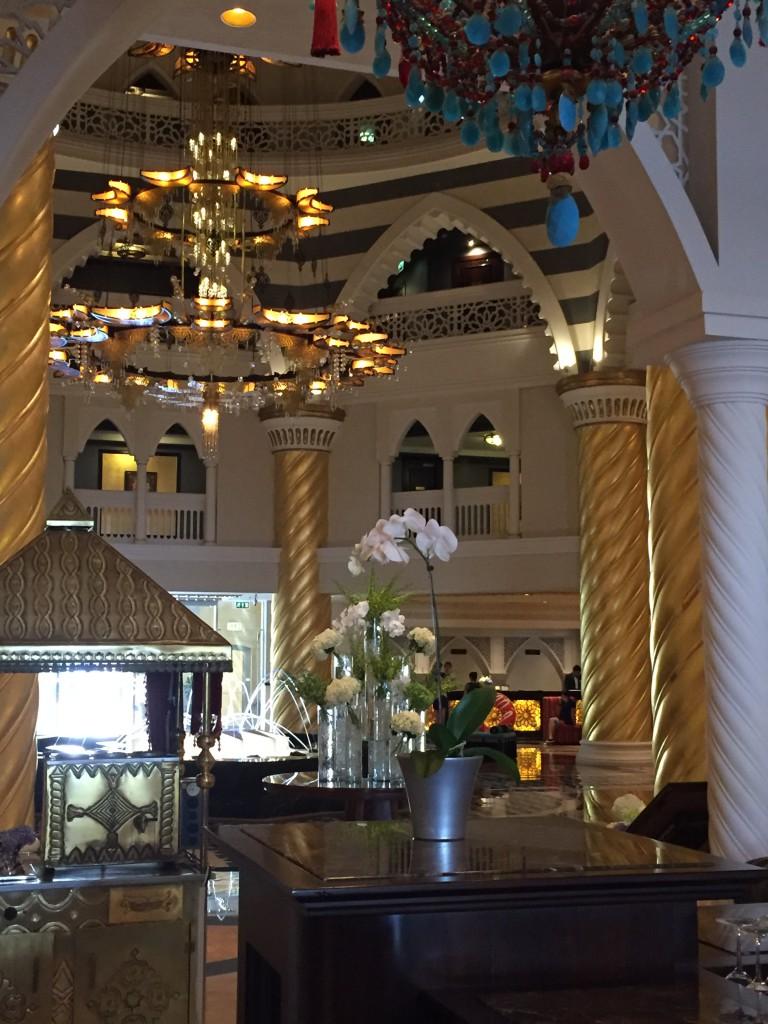 Lobby im Zabeel Saray