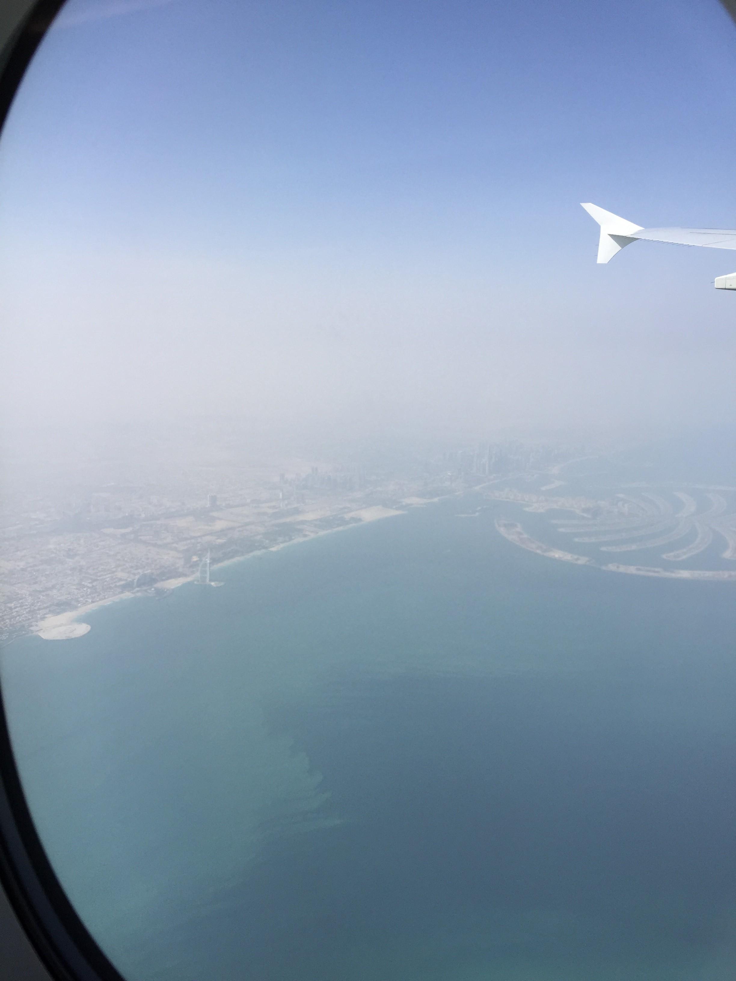 Rückflug mit Emirates