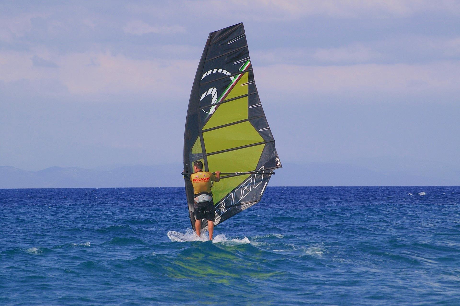 Surfer auf Samos
