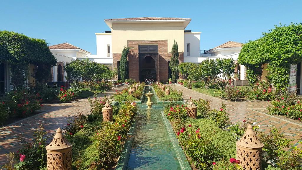 ROBINSON Club Agadir | Innenhof des Hauptgebäudes