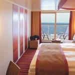 AIDA | Kabinenbeispiel Balkonkabine © AIDA Cruises
