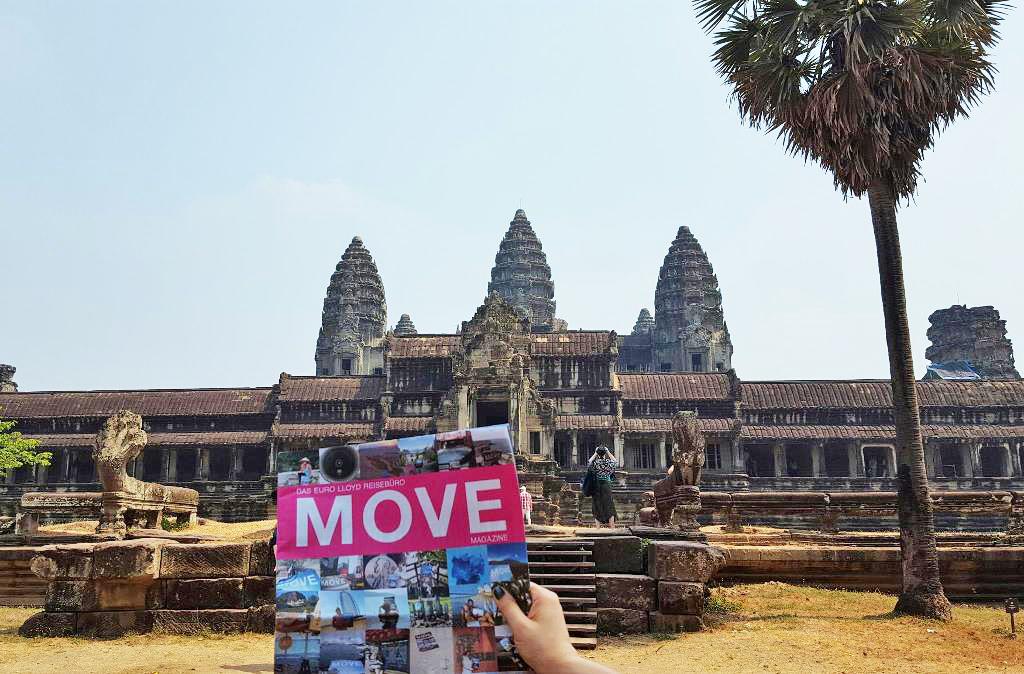 Kambodscha | Move on Tour in Angkor Wat