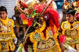 Straßenfest Bolivien