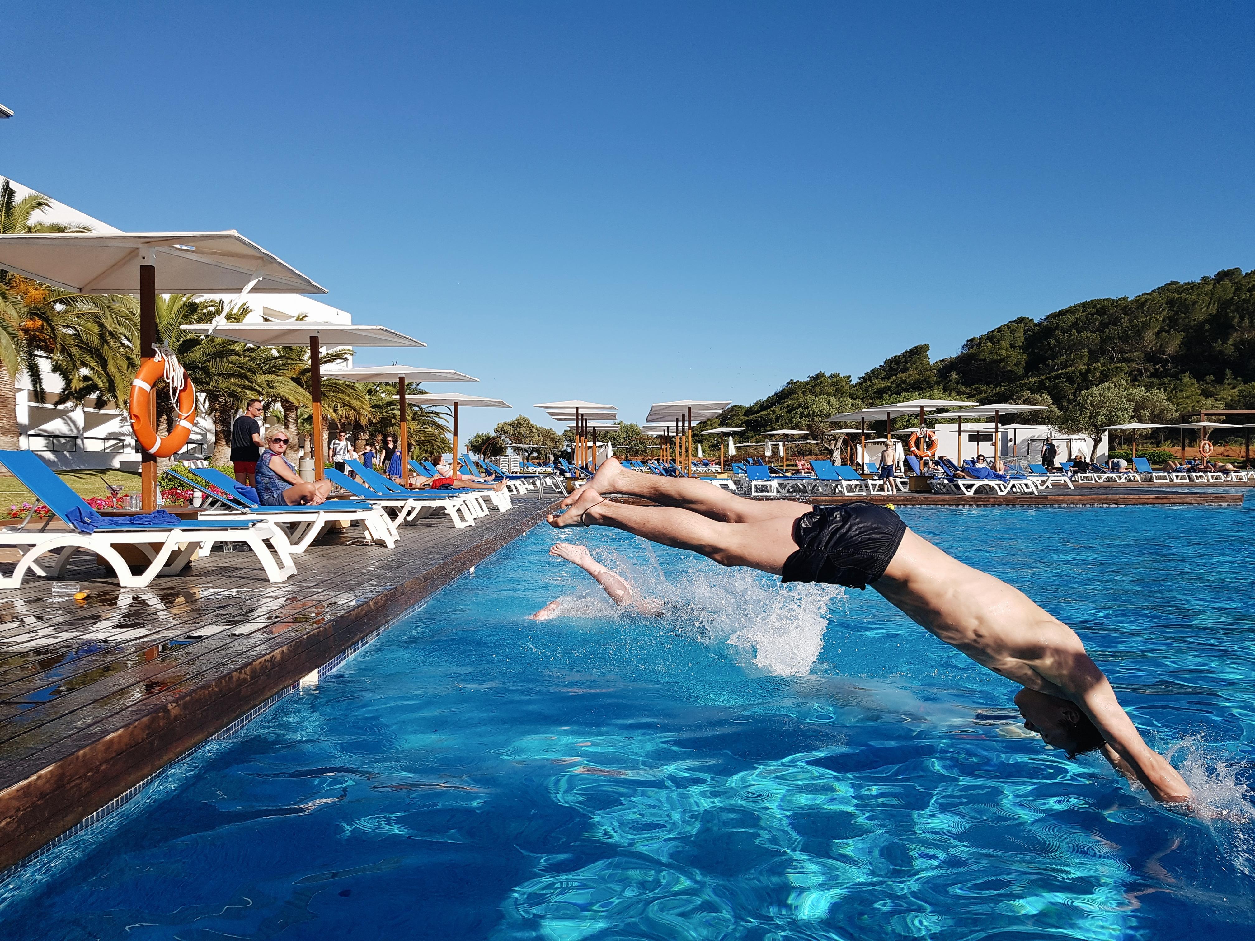 Poolbereich Grand Palladium Palace Ibiza