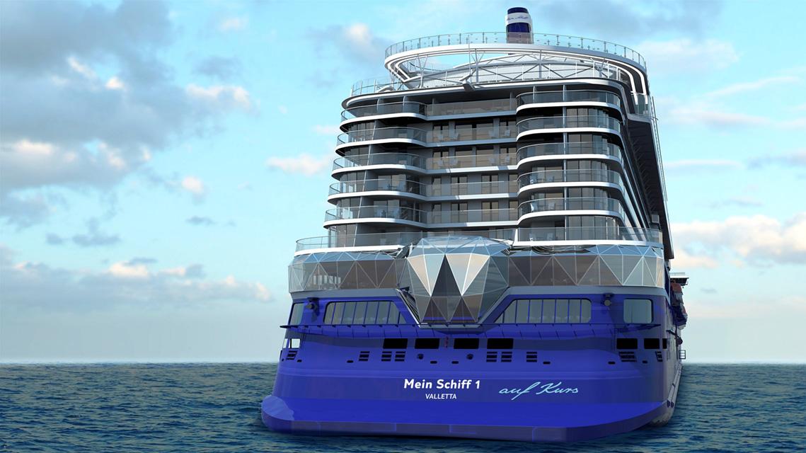 Exterior Ansicht der Mein Schiff 1