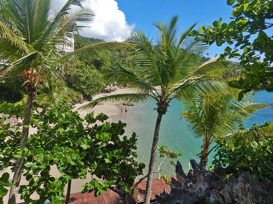 Strand am Luxury Bahia Principe Samaná