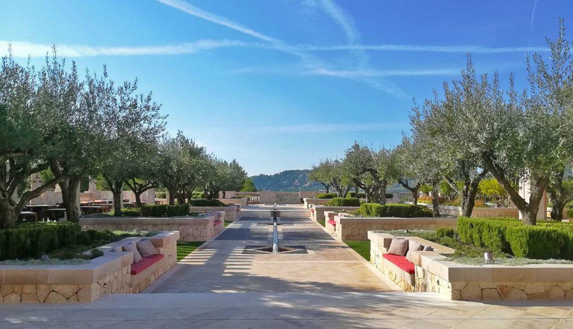 Außenanlage - Park Hyatt Mallorca