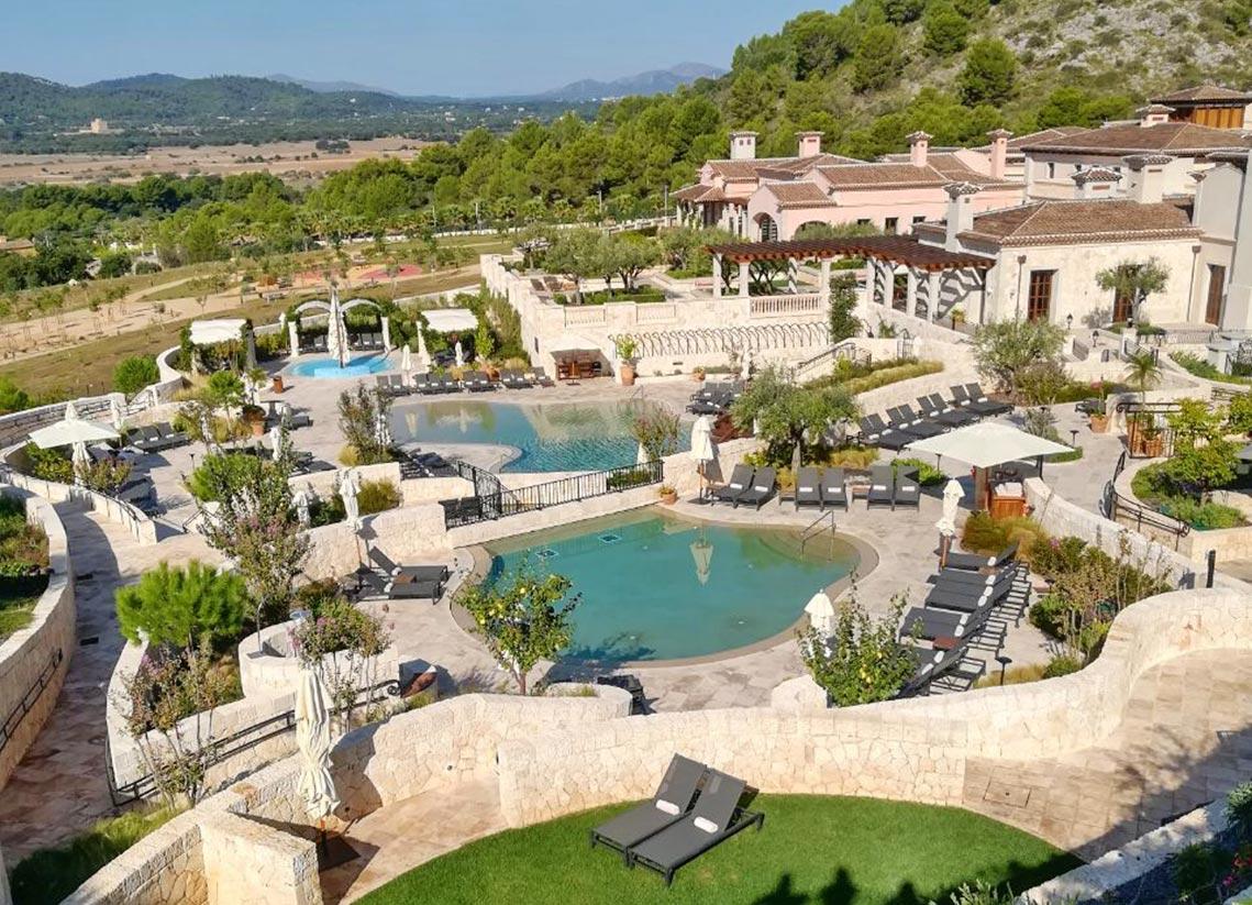 Poolanlage- Park Hyatt Mallorca