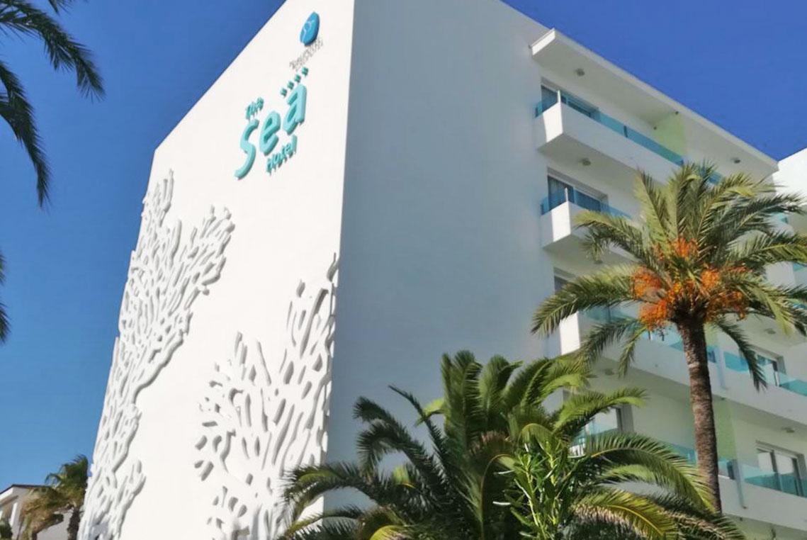 Hotel von außen - The Sea by Grupotel