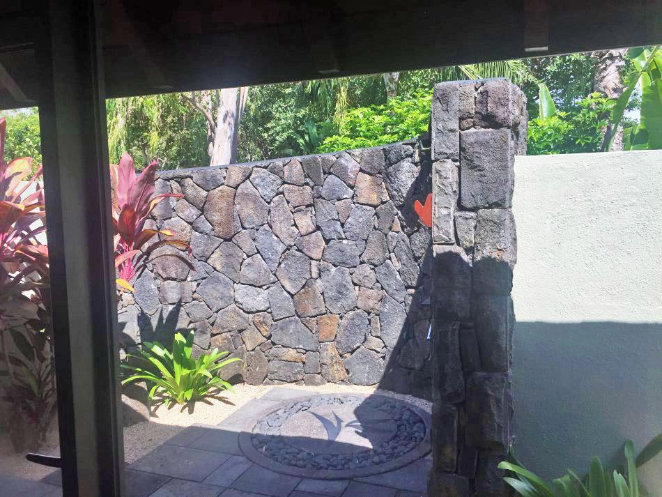Aussendusche Four Seasons Mauritius