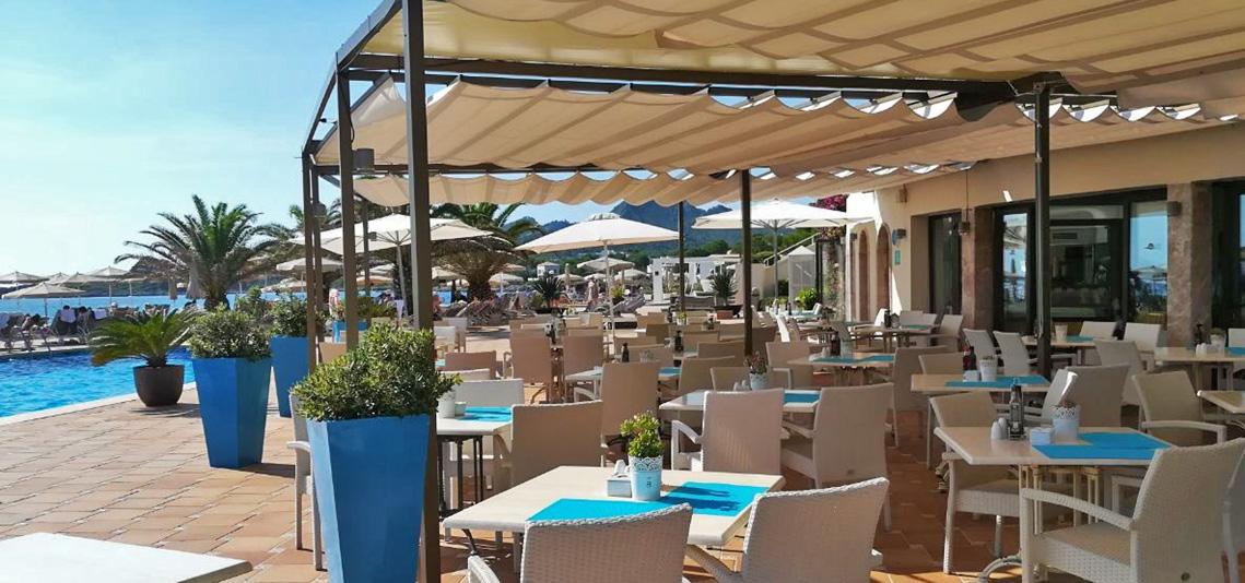Restaurant Außenbereich - Sensimar Aguait Resort & Spa