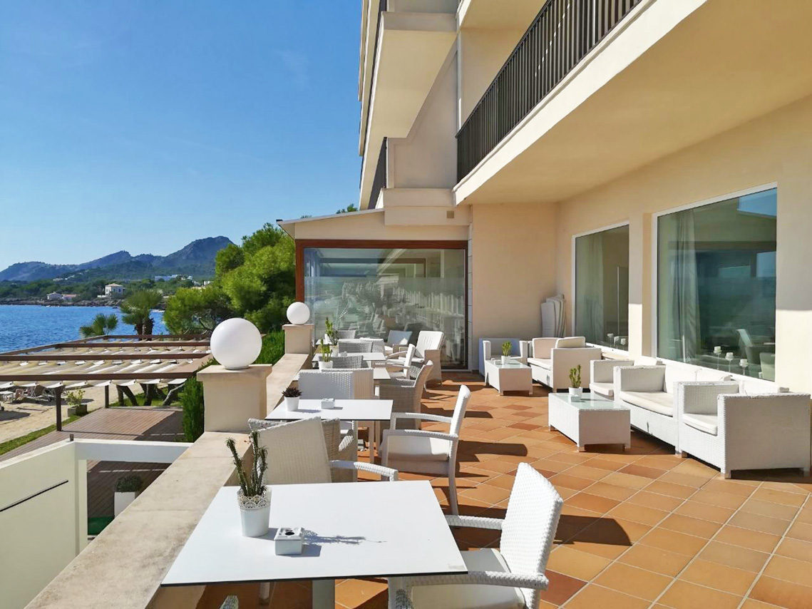 Terrasse - Sensimar Aguait Resort & Spa