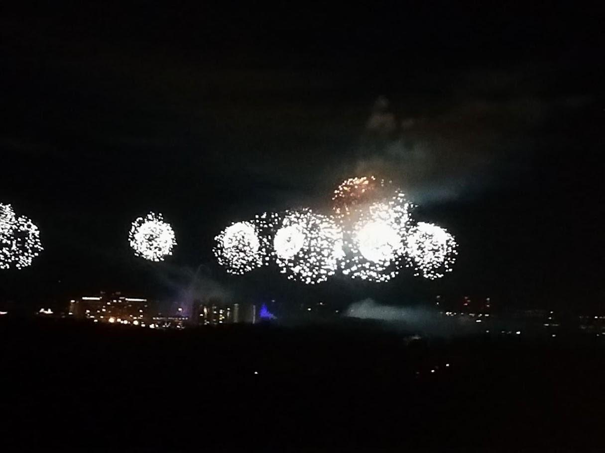 Disney World Feuerwerk vom Four Seasons Resort Orlando