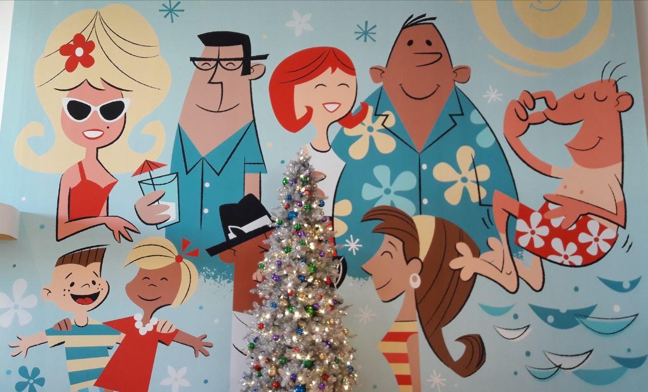 Weihnachtsdeko in Forida