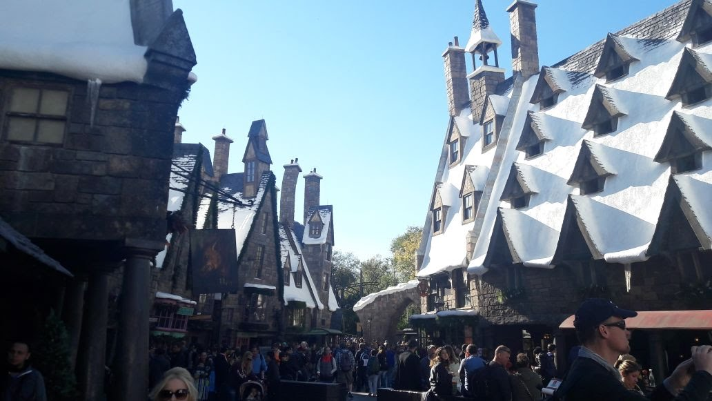 Universal Studios Orlando | Harry Potter's Hogsmead