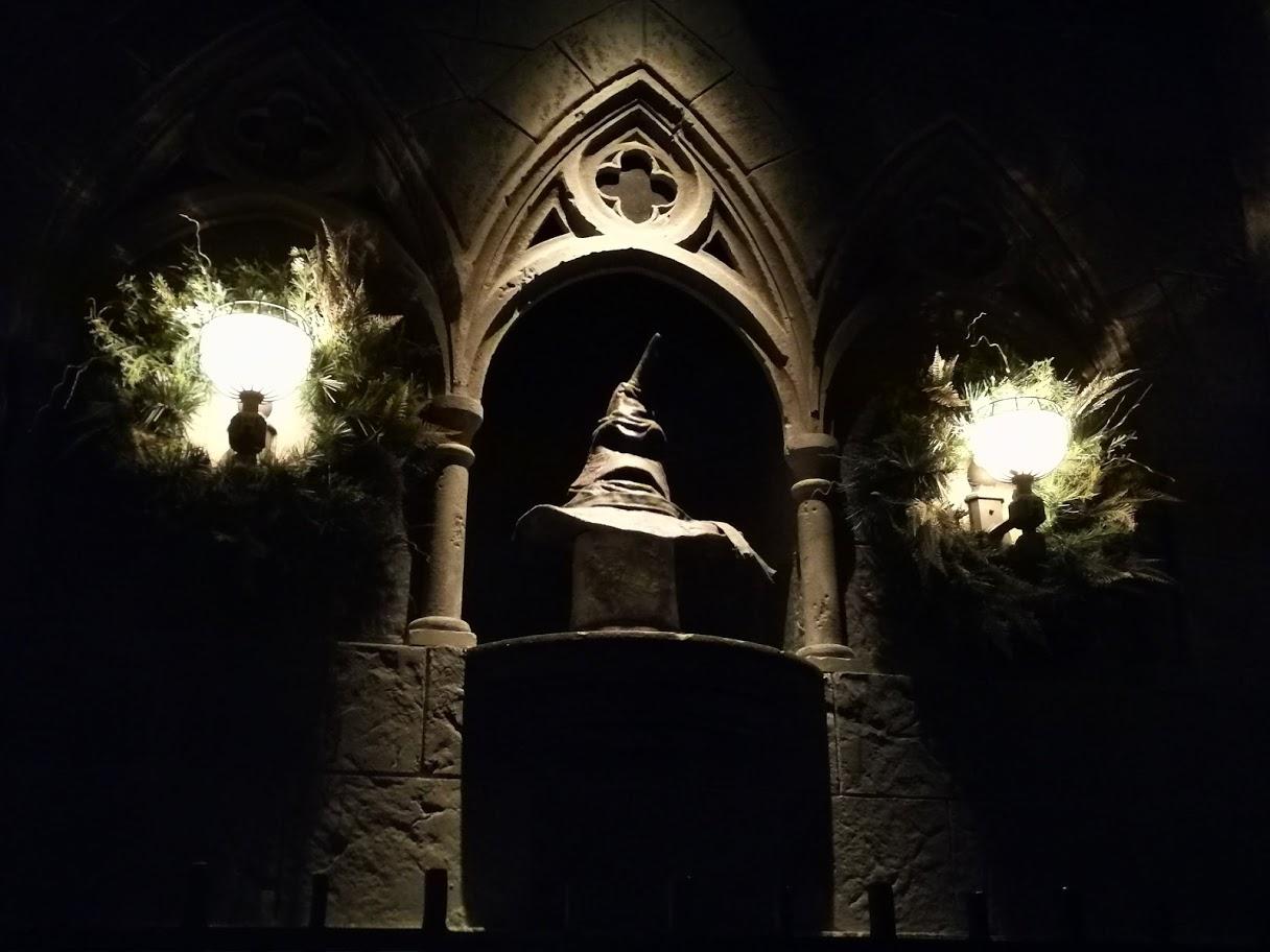 Universal Studios Orlando | Harry Potter's sprechender Hut