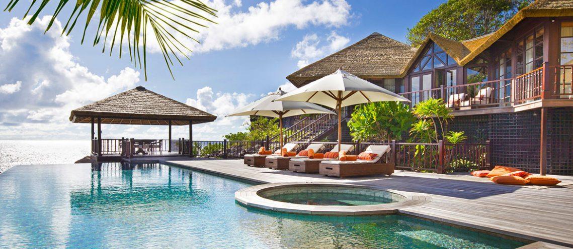 Private Pool Twin Residence des Fregate Island Private