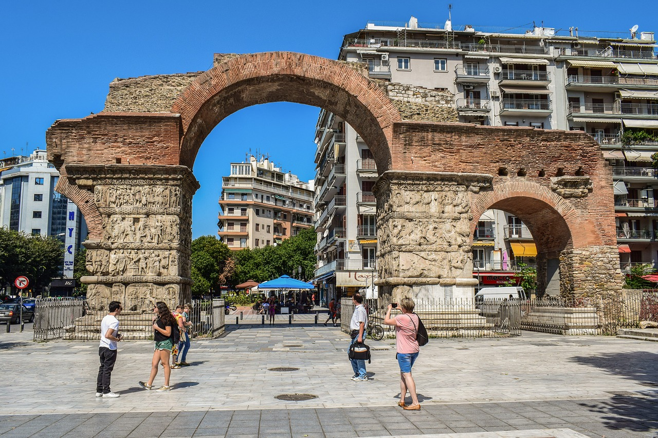 Bogen des Galerius in Thessaloniki