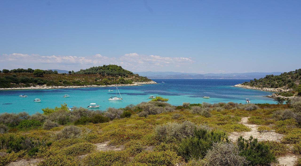 Die wilde Halbinsel Sithonia