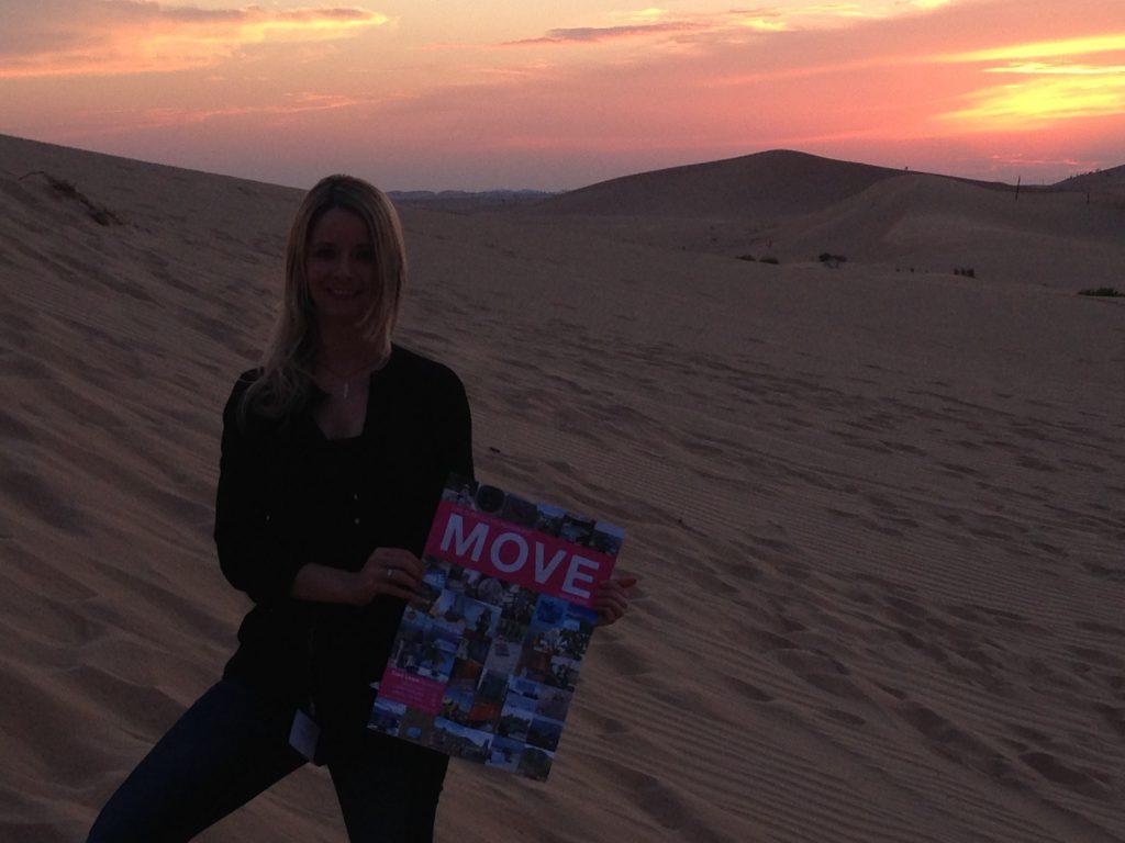 MOVE 2017 in der Wüste vor Abu Dhabi