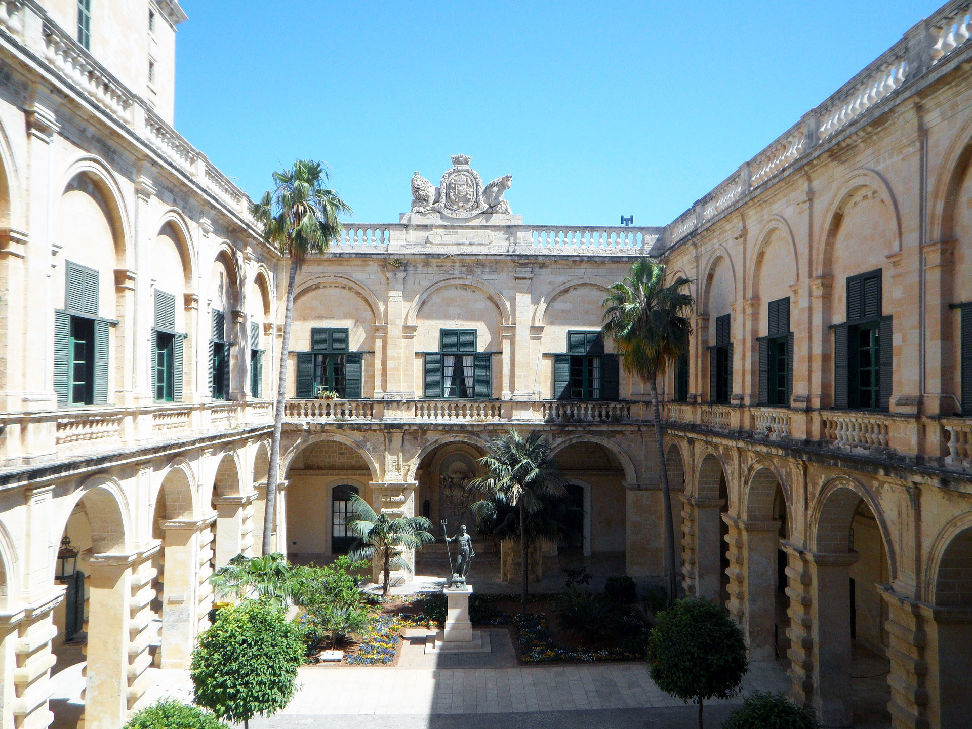 Grand Masters Palace auf Malta