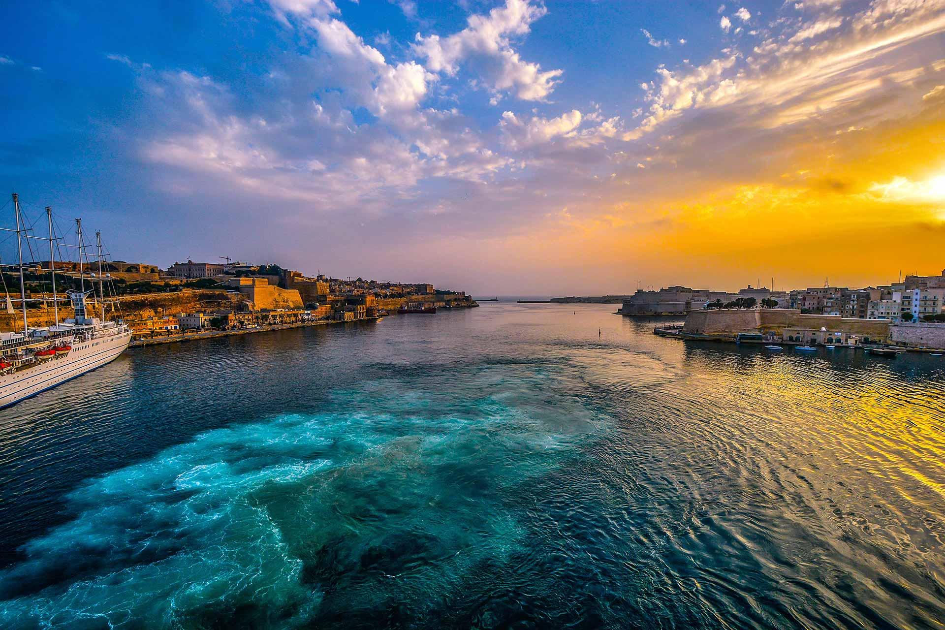 Malta, Hafen von Valletta