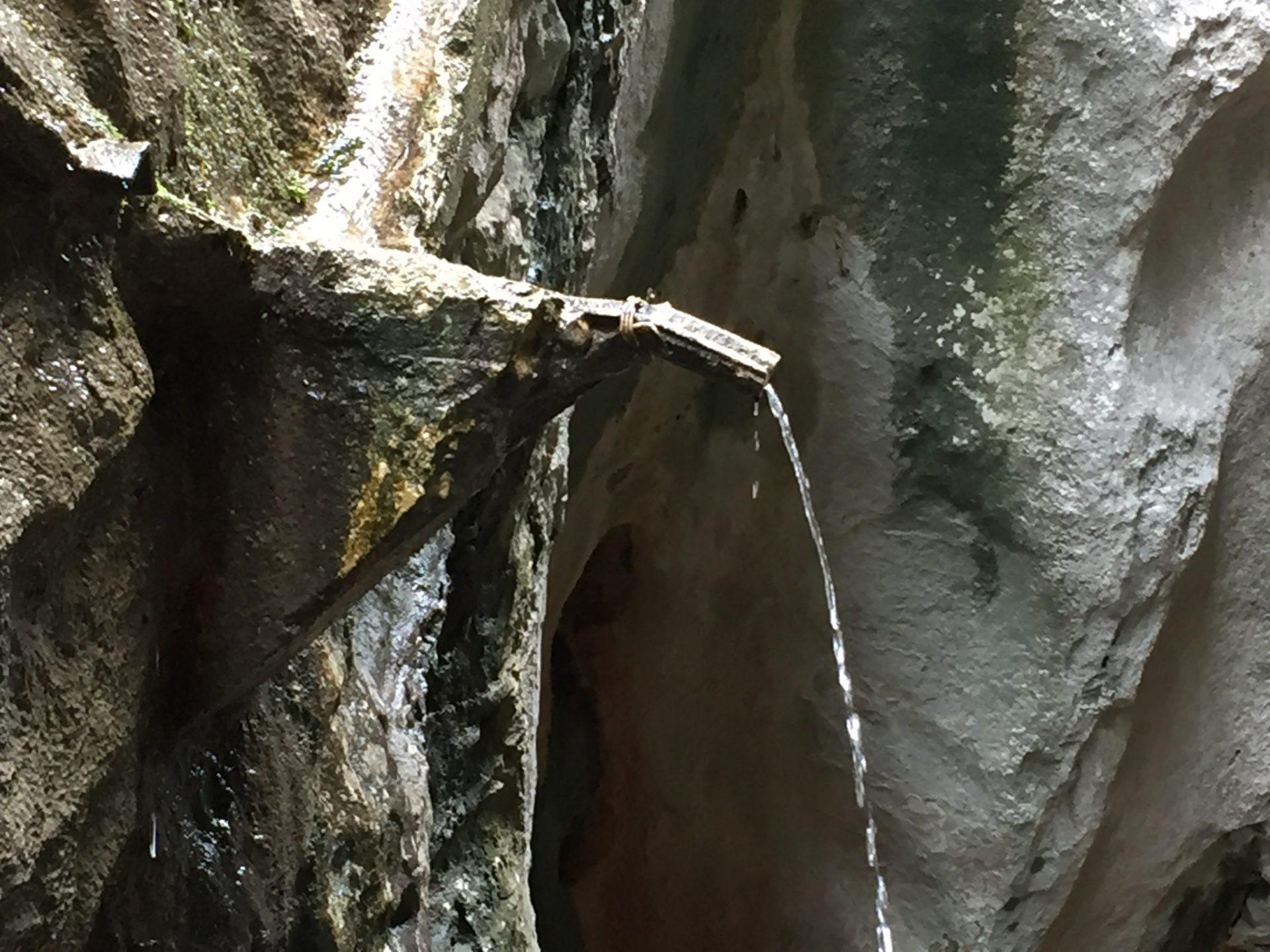 Die Yecla Schlucht in La Yecla im Baskenland
