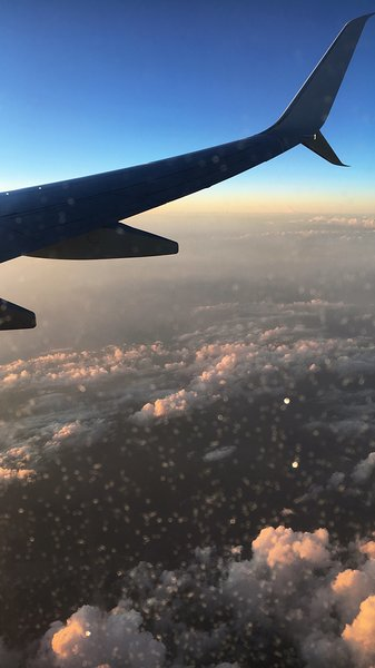 Flug in die Türkei