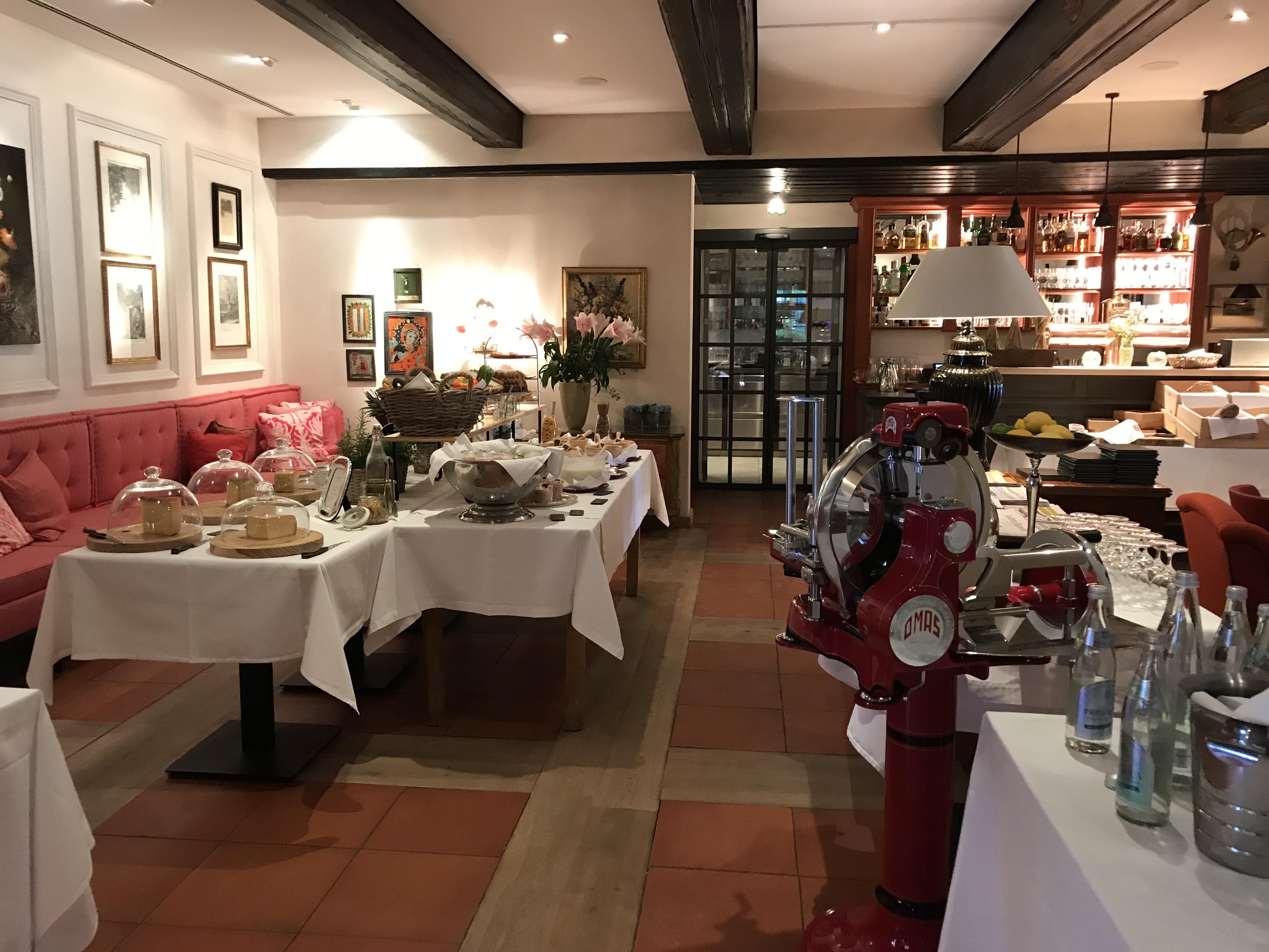 Brauereigasthof Hotel Aying Frühstücksbuffett