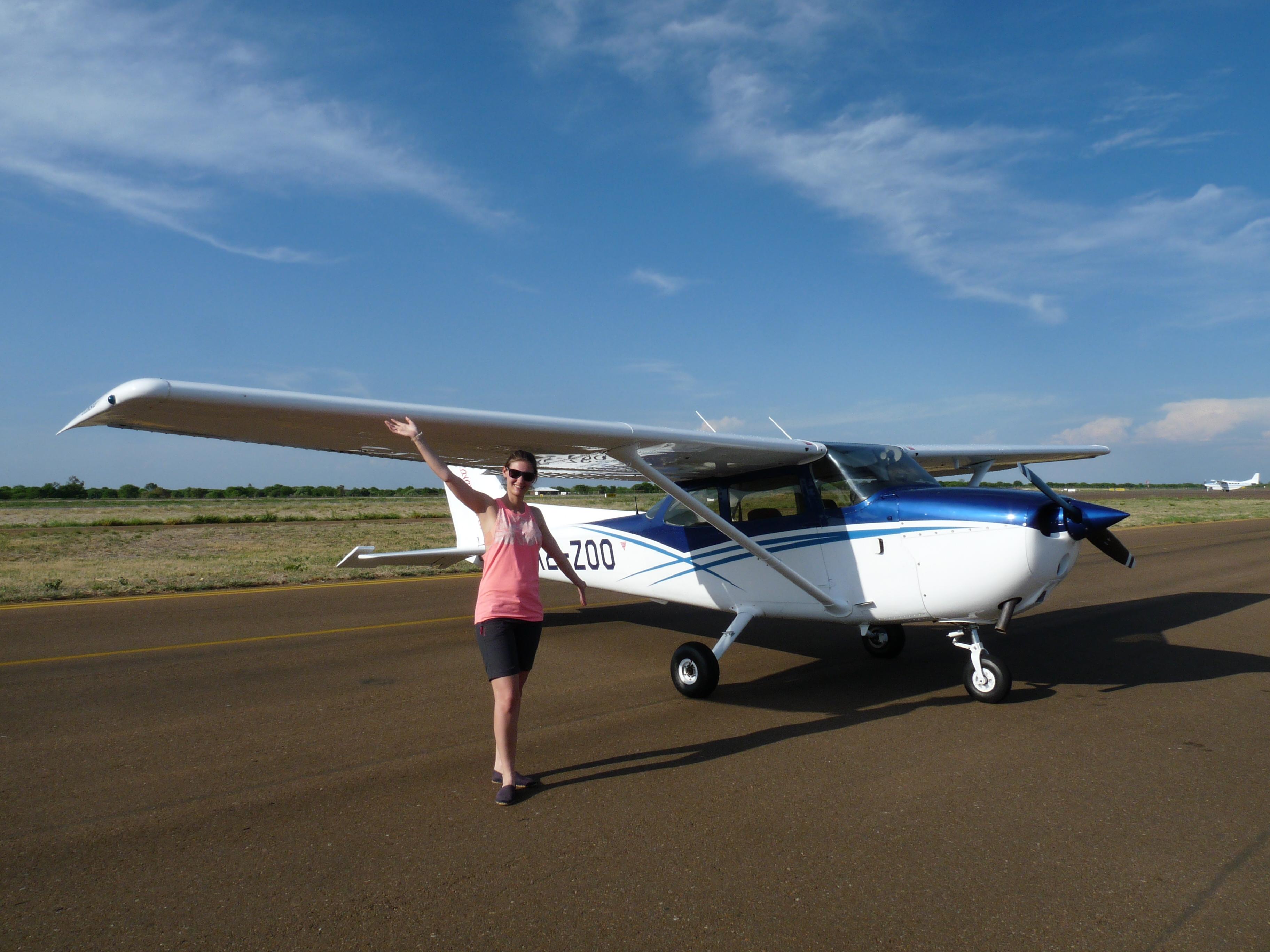 Botswana - Okawango Delta - Flughafen Maun