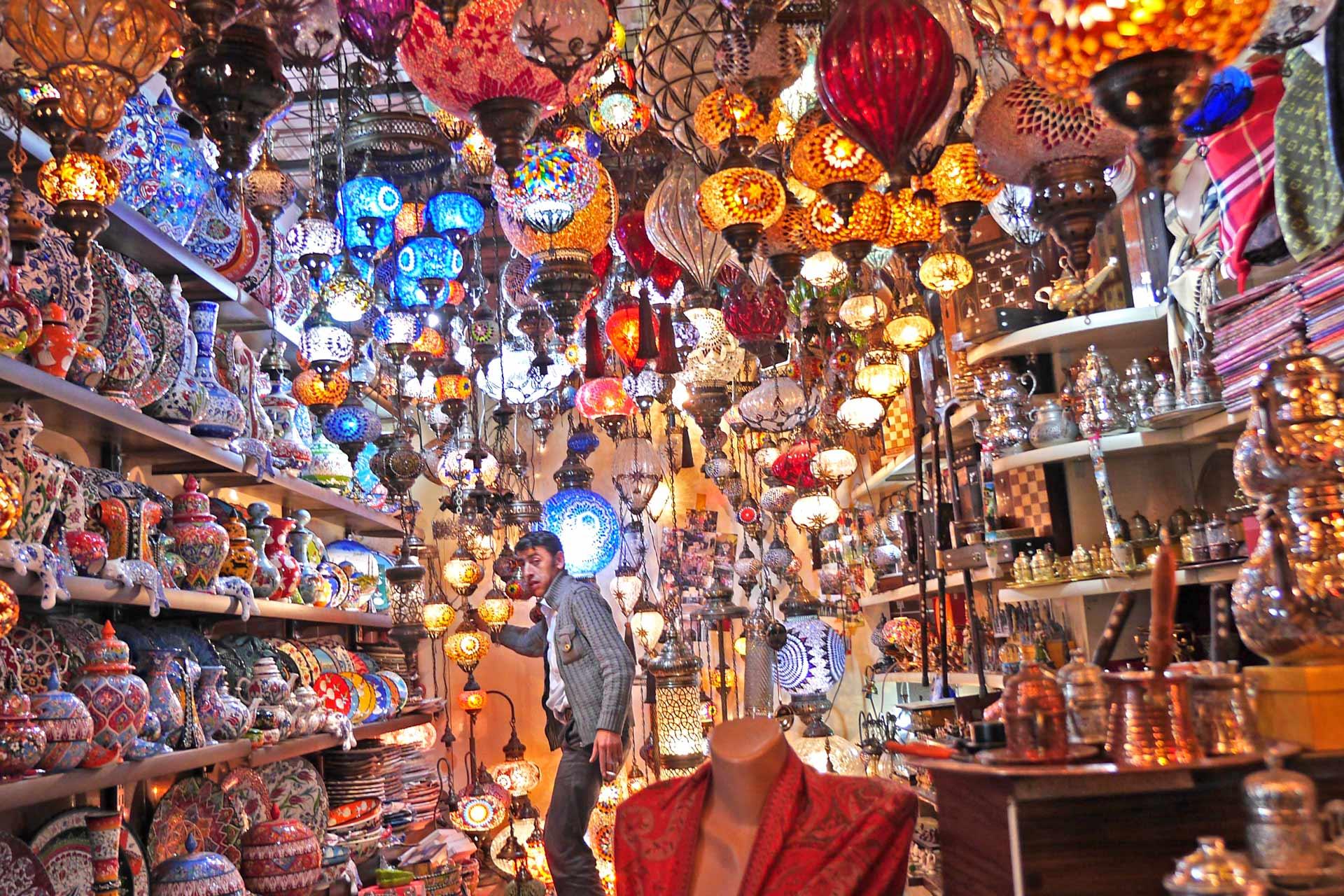 Bazar in der Türkei