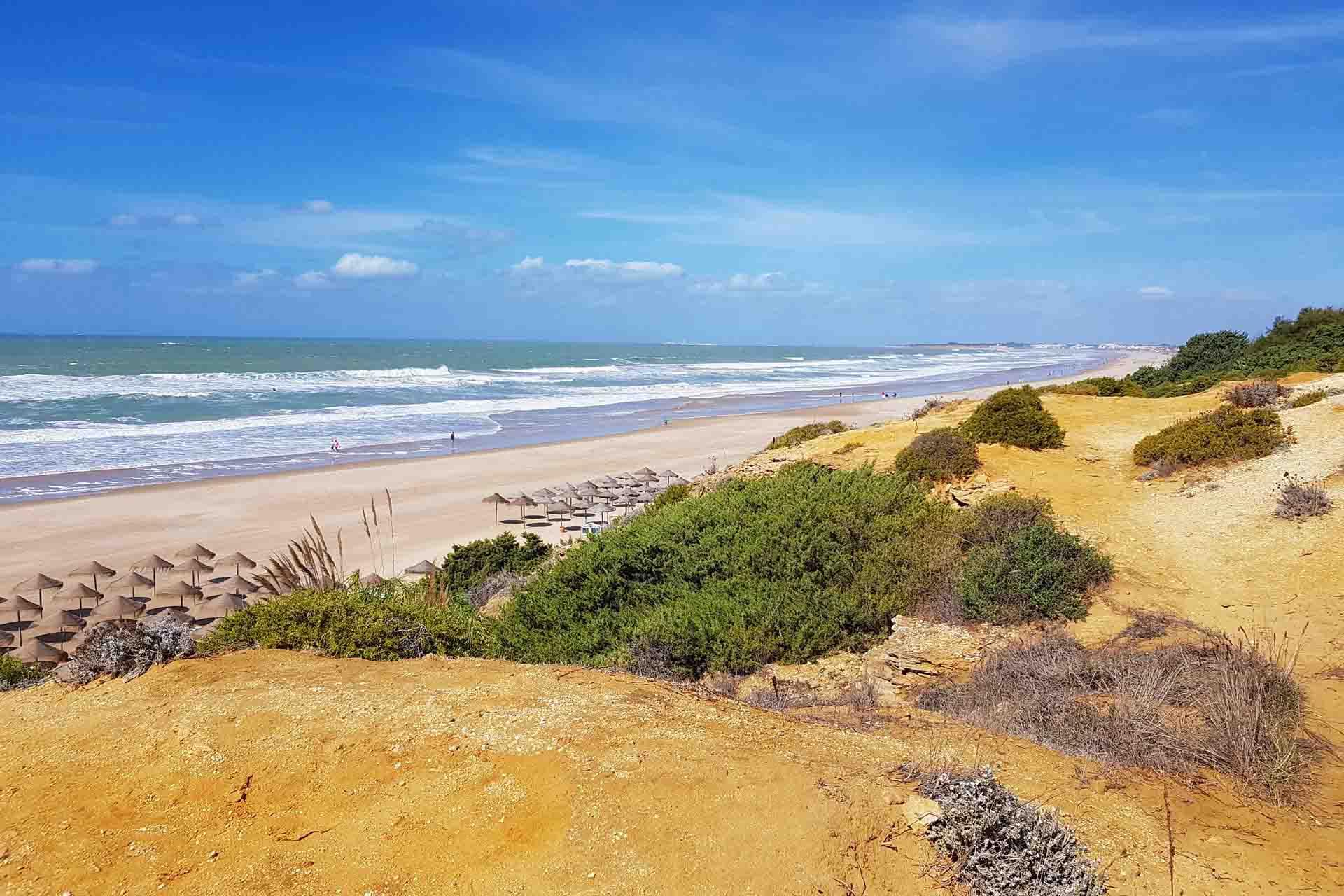 Strand der Costa de la Luz