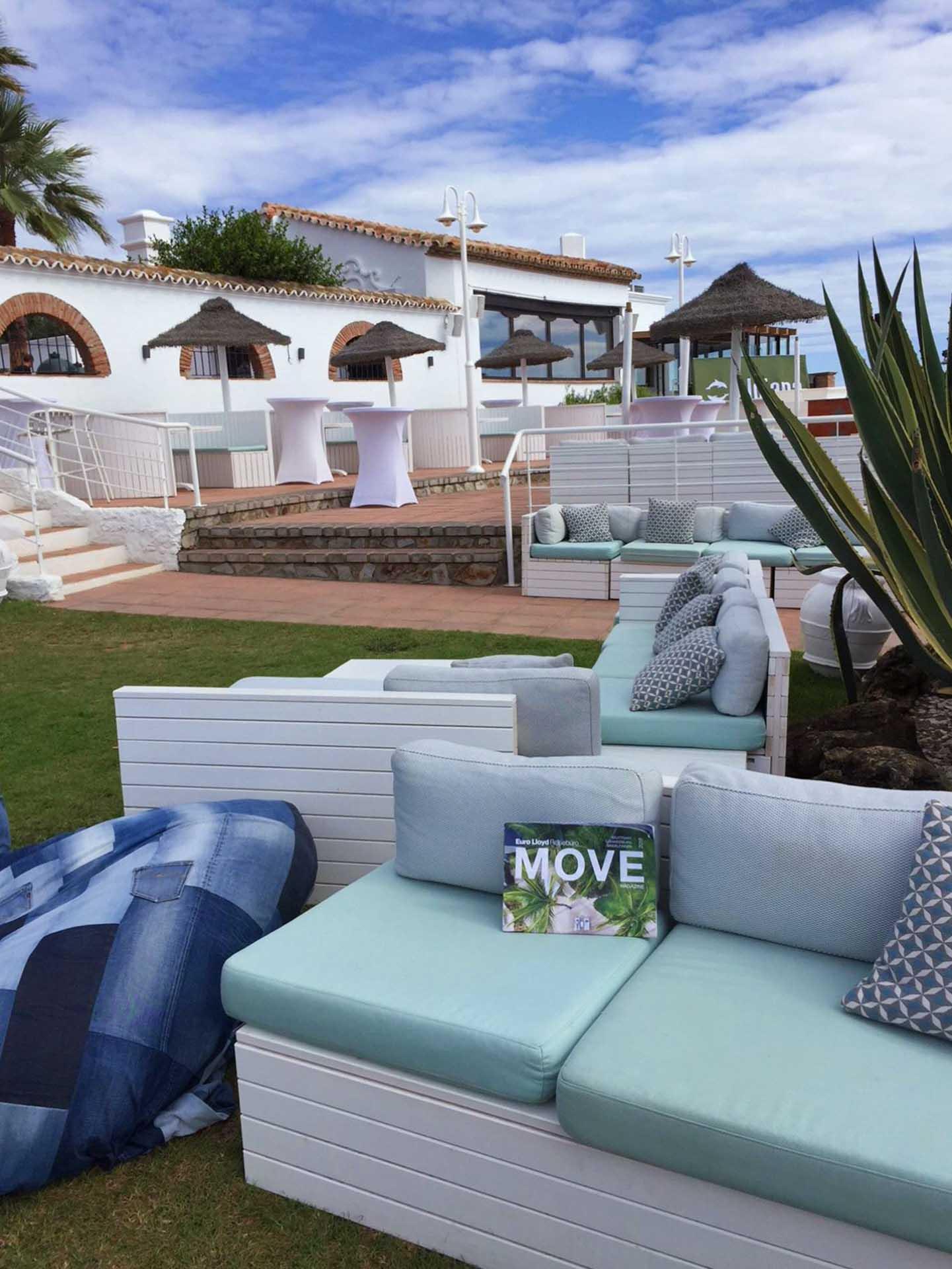 Neuer Beachclub Aldiana Costa del Sol