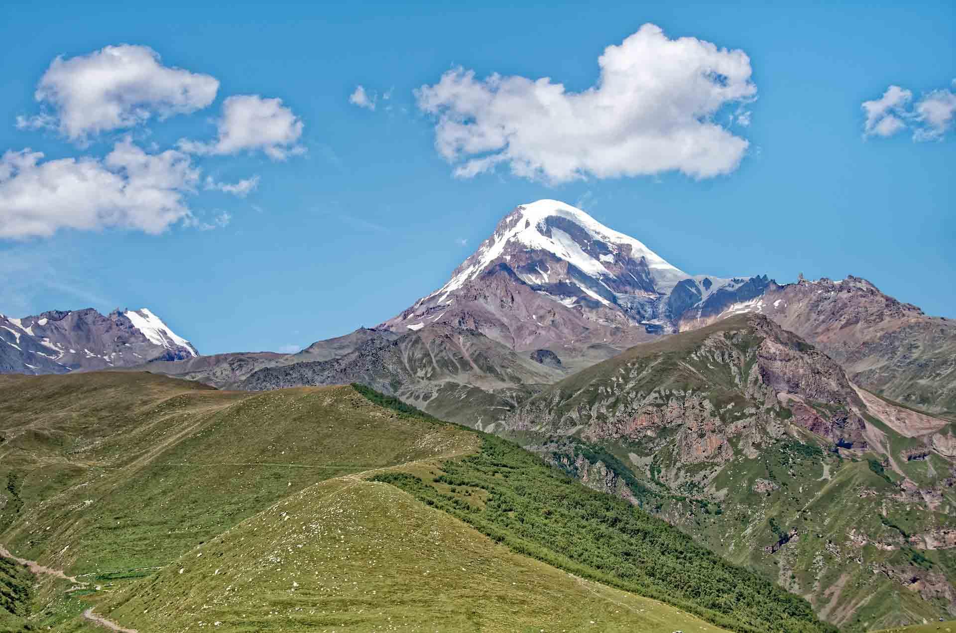 Gebirge in Georgien