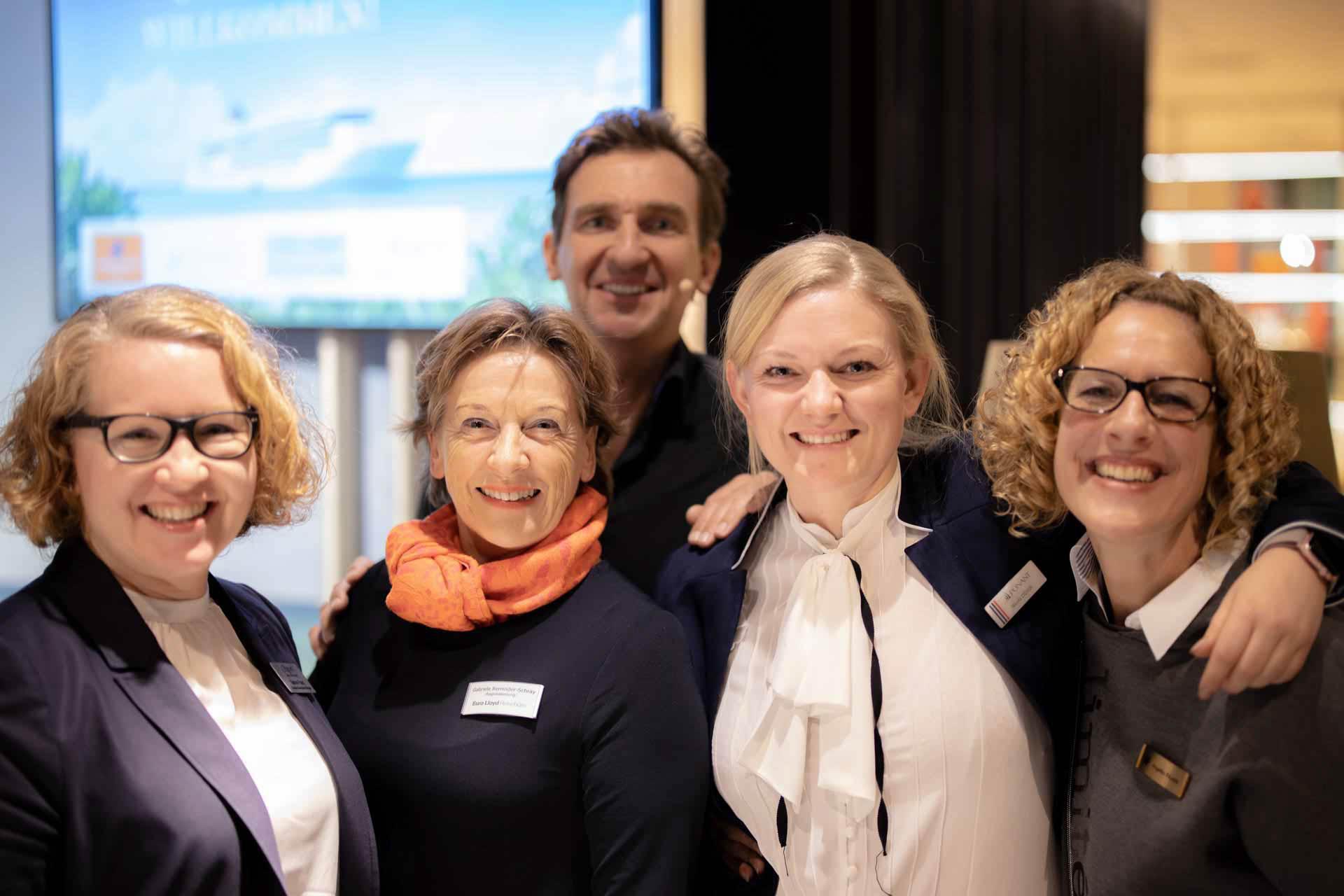 Sabine Franz, Gabriele Reminder-Schray, Kai Schepp, Nicole Didier, Angelika Fäustle